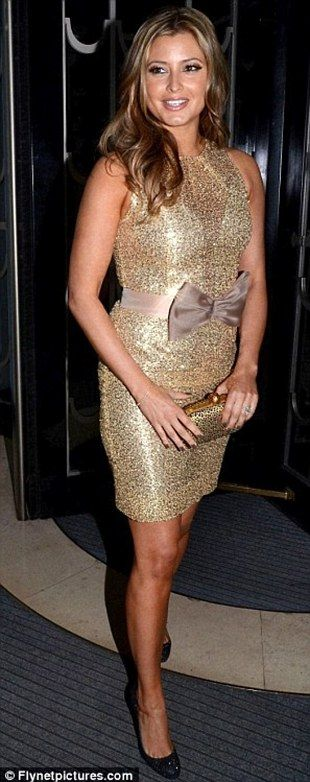 Holly Valance wowed at the Radio Times Cover Awards