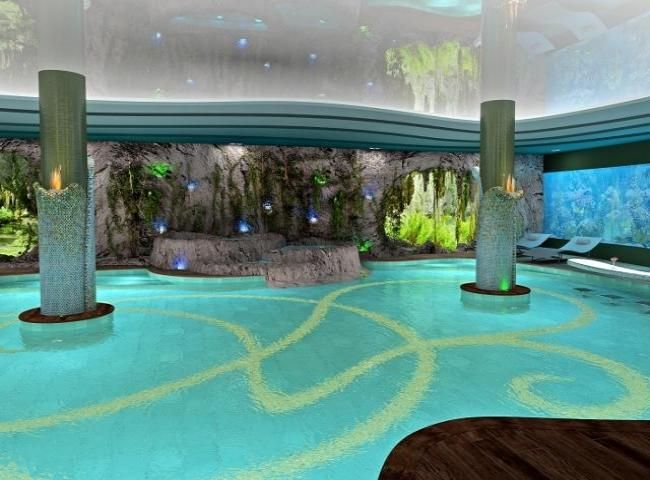 interesting pictures of indoor pools. Indoor pool surrounded by aquariums  855 best Heavenly Pools Spas images on Pinterest Arquitetura