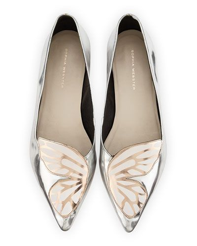 Ballet Flats Ballerina Shoes for Women On Sale, Black, suede, 2017, 7.5 Sophia Webster