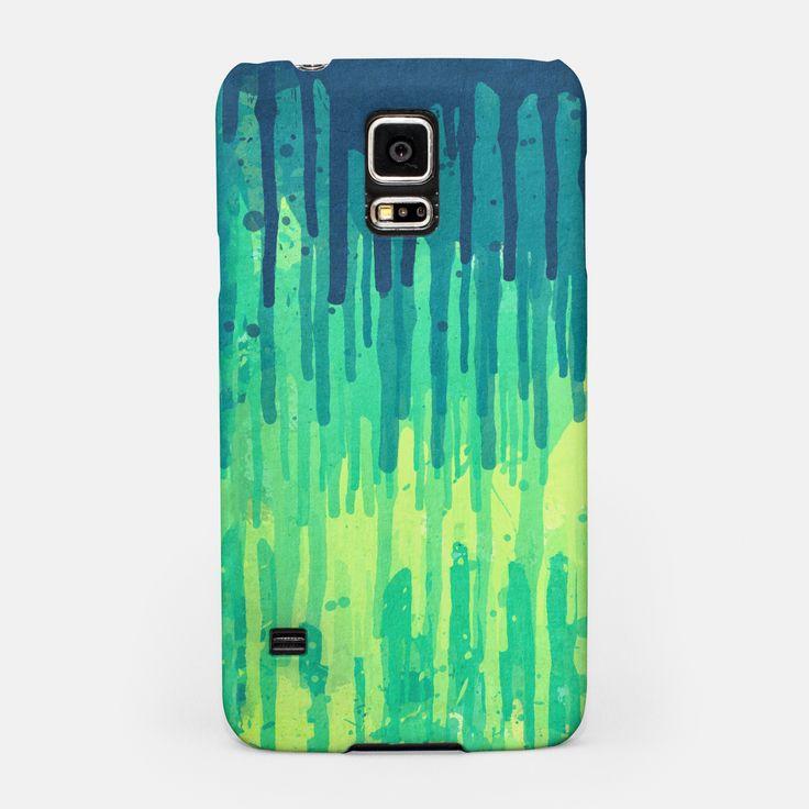 Green Grunge Color Splatter Graffiti Backstreet Wall Background Samsung Case by badbugs_art 19.95€v
