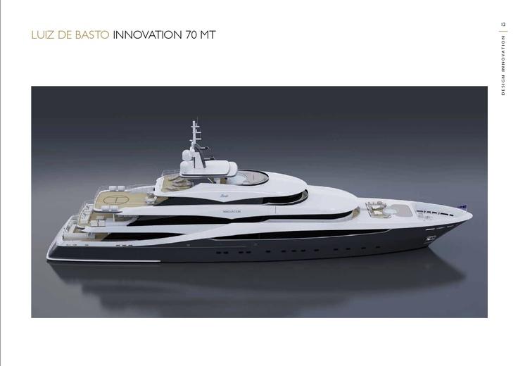 Benetti Design Innovation - Luiz De Basto  www.benettiyachts.it
