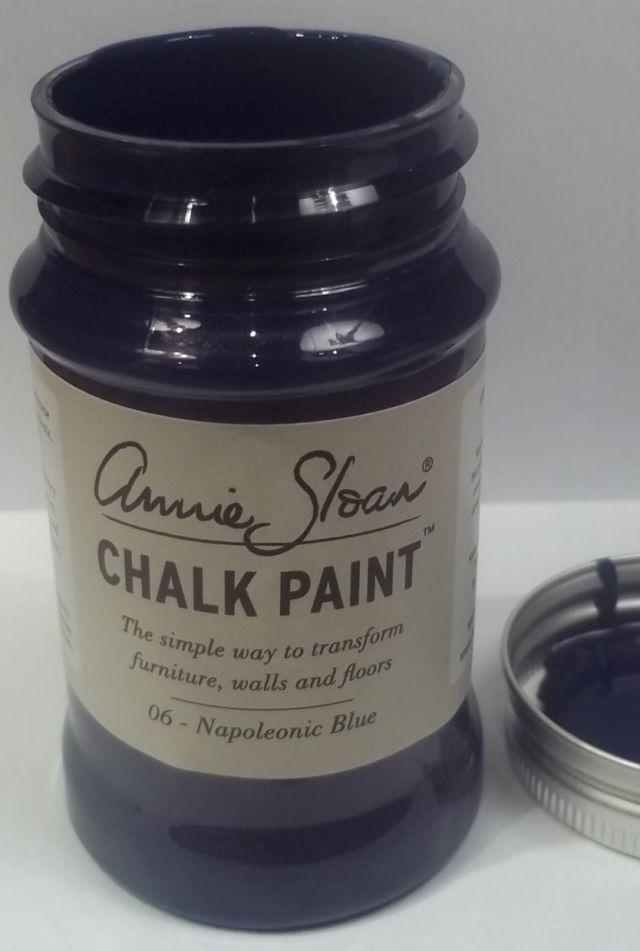 Annie Sloan krijtverf Napoleonic Blue 100 ml