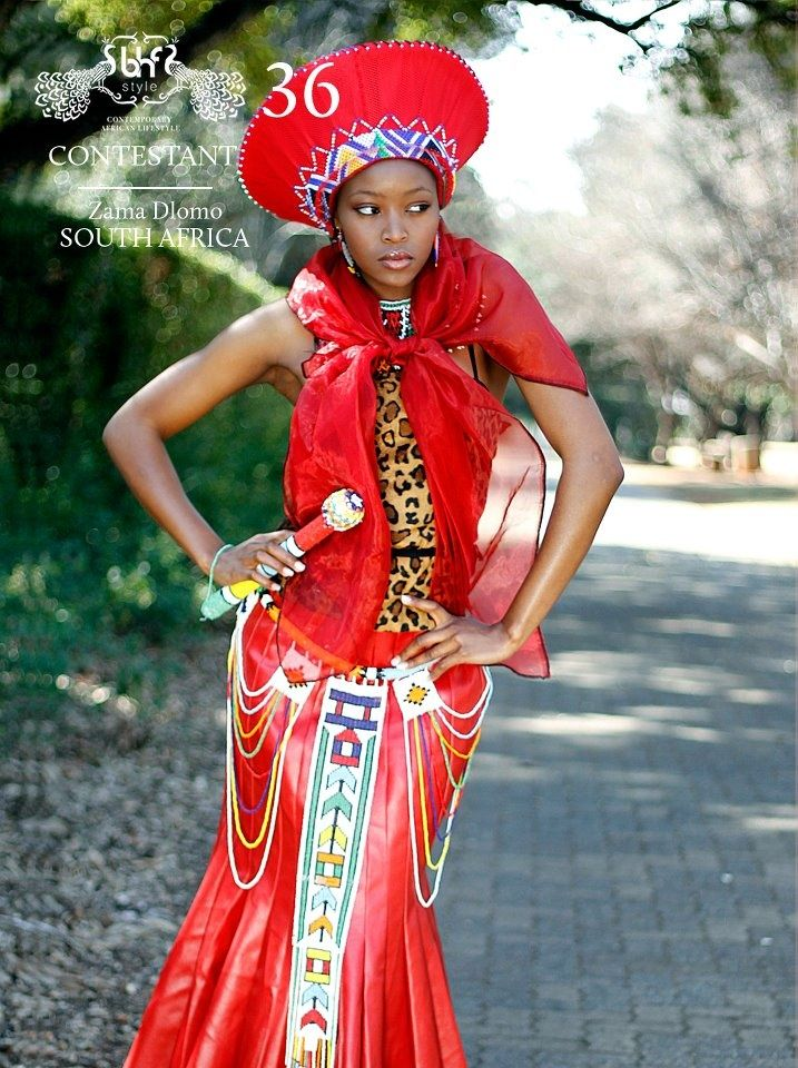 Modern Zulu Traditional Dress Design