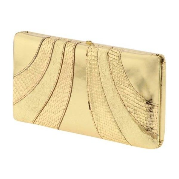 Abas Emma Snake Valet Clutch Bag ❤ liked on Polyvore featuring bags, handbags, clutches, purses, accessories, bolsas, handbags clutch and wristlet, beige clutches, leather hand bags and man bag