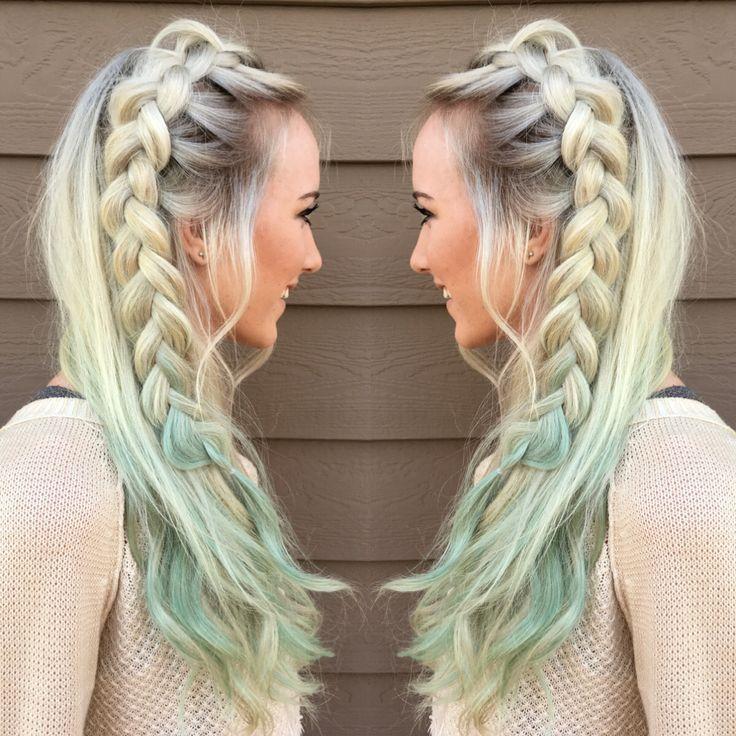 17 Best ideas about Mint Hair Color on Pinterest