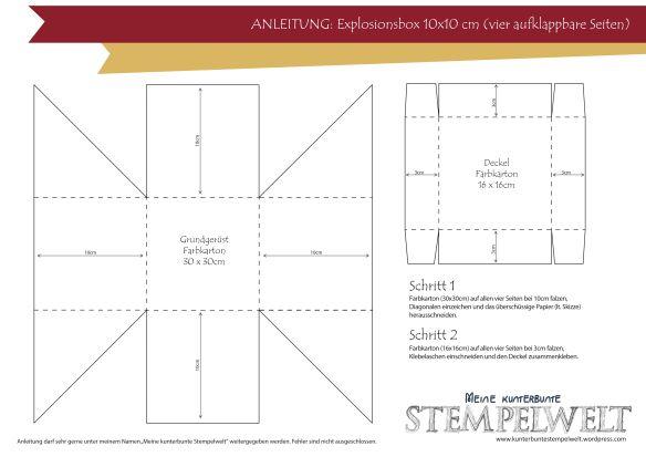 ber ideen zu pop up karten vorlagen auf pinterest klappen make up paisley schablone. Black Bedroom Furniture Sets. Home Design Ideas