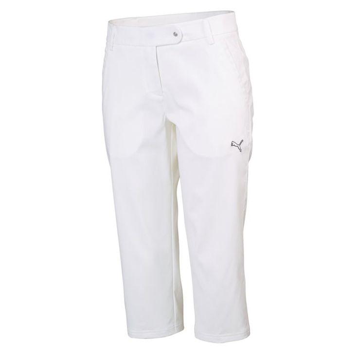 Luxury Puma Golf Womens Dot Print Golf Pants Black