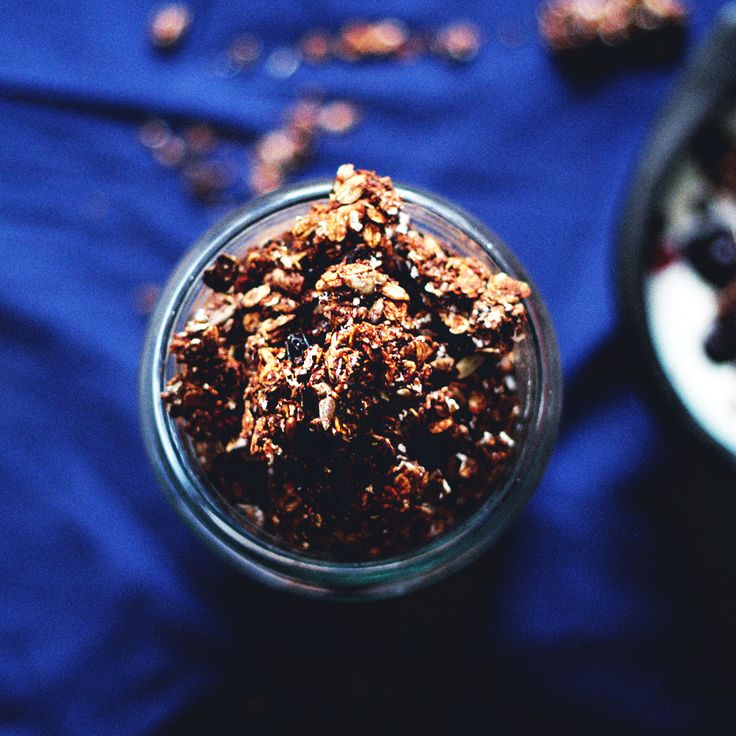 FROM SCRATCH : healthiest ever chocolate granola   budget version   jenny mustard