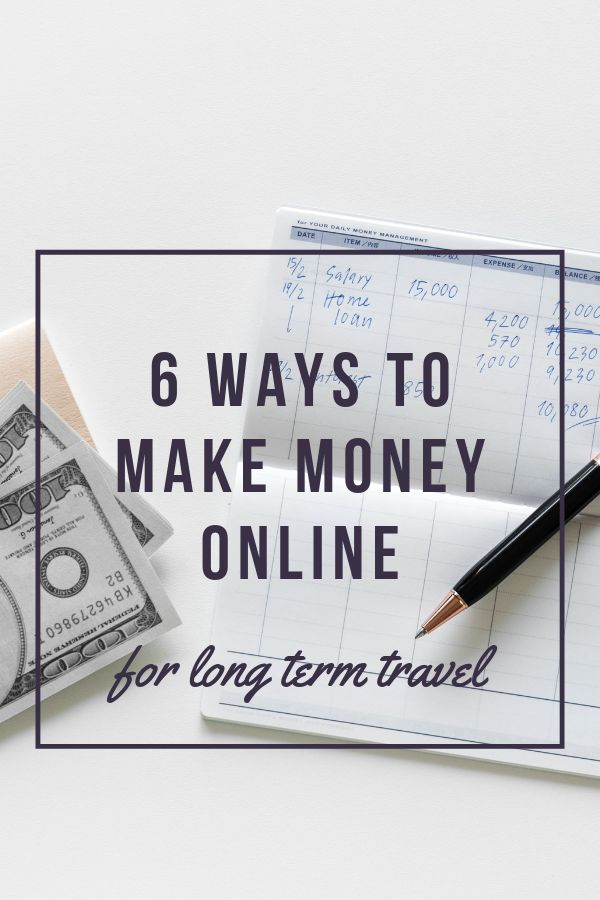6 Ways to Make Money Online – Project Vagrant