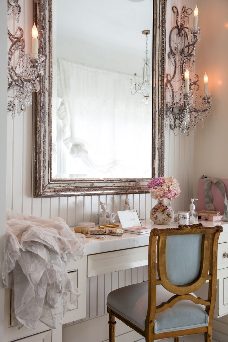 17 best images about jessica simpson 39 s shabby chic home on for French shabby chic bathroom ideas