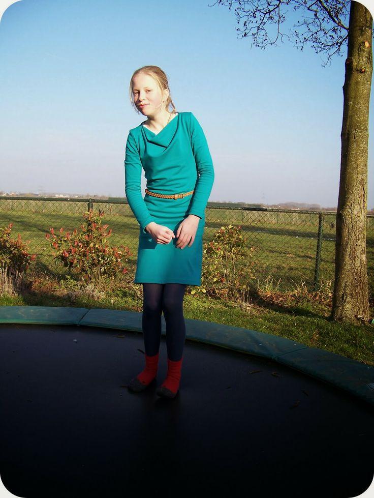 Betuwse Beauties: jurk Knipmode 11/2013 nr. 22 Dank aan Gera voor het voorbeeld.