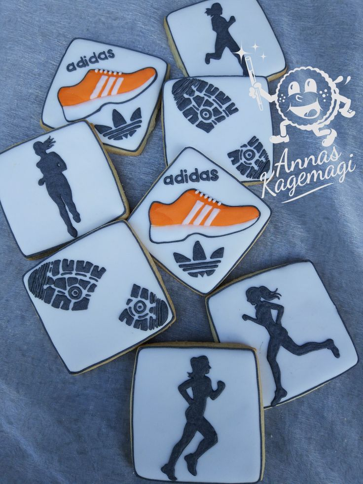 Sugarcookies for a girl who loves running