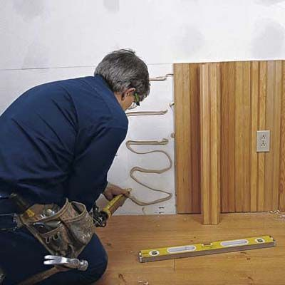 how to install beadboard wainscoting by mark feirer and thomas baker this old house magazine. Black Bedroom Furniture Sets. Home Design Ideas