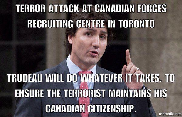 Canada's prime minister TRUDEAU