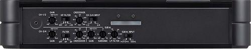 Alpine - PDX Series 1600W Class D Digital Multichannel Mosfet Amplifier - Black