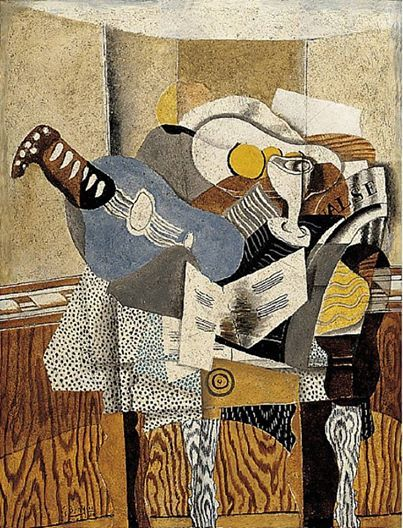 The Blue Mandolin, 1930 : George Braque