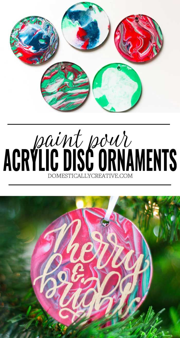 Paint Pour Christmas Ornaments Clear Christmas Ornaments Christmas Ornaments Christmas Ornaments Homemade