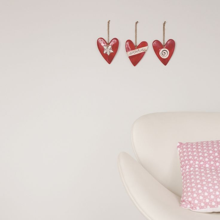 Aroha Hearts - Designer Ceramics NZ