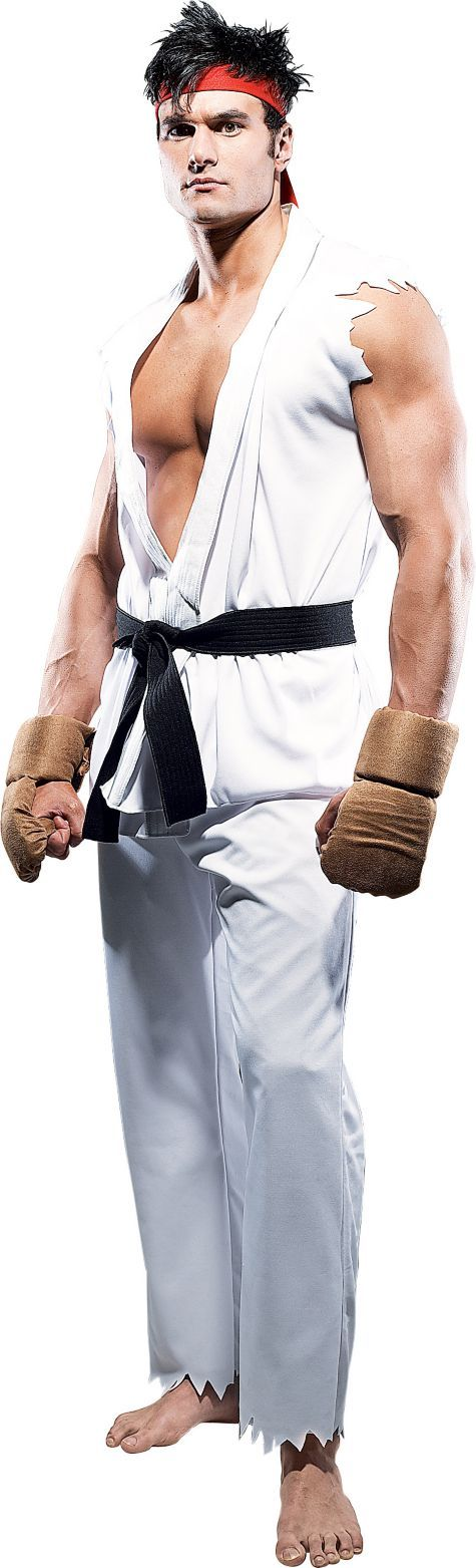 Street Fighter Ryu Costume for Adults - Party City