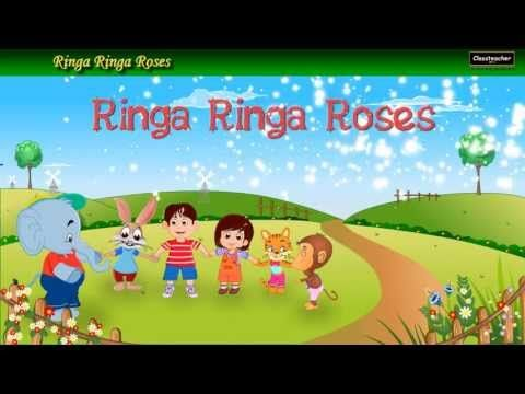 Ringa Ringa Roses (Animals) is an animated english nursery poem for kids and children with Lyrics. This video is great for kids learning through animations.