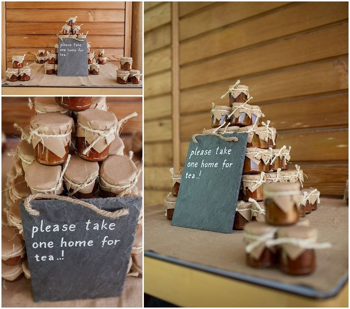 Naomi and David's Bright and Fun DIY Wedding. By Paul Joseph Photography - wedding favours