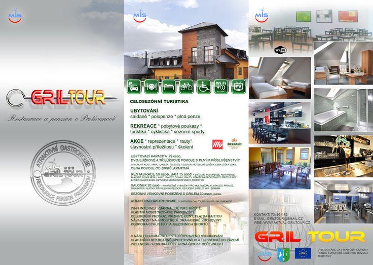 Penzion Gril Tour - Protivanov  www.aktual-griltour.cz Penzion 3*