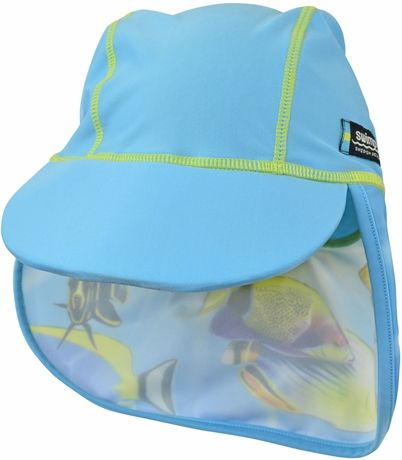 149 kr Swimpy UV-hatt Fish Turquoise 4+ år | Barnkläder UV & Bad | Jollyroom