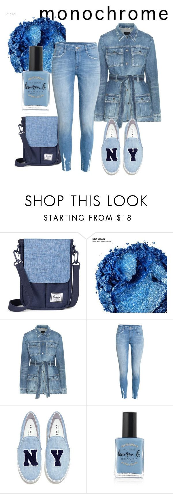 """""""Untitled #67"""" by deja-leko ❤ liked on Polyvore featuring Urban Decay, Yves Saint Laurent, Joshua's and Lauren B. Beauty"""