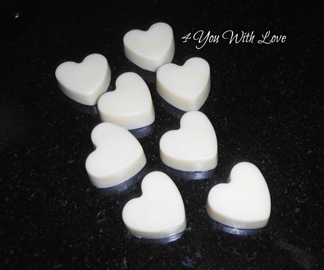 4 You With Love: Guilt Free Mounds Bars (Make Your Own Yummy Solid Lotion Bar)