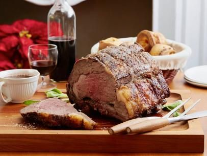 Dry-Aged Standing Rib Roast with Sage Jus Recipe | Alton Brown | Food Network