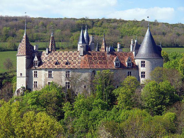 borgogna chateau rochepot