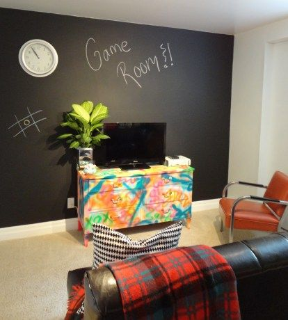 Game Room Makeover