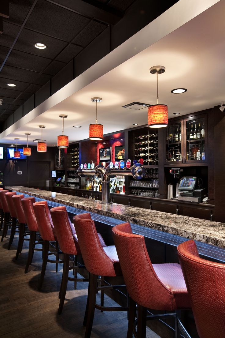 Interior Design Of The Fin Sports And Entertainment Bar In Newton Area Surrey BC By Award Winning Firm SSDG Interiors Inc