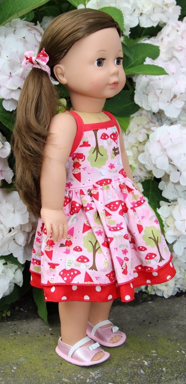 Mama Deborah: poppen jurkje en tuin