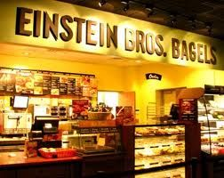 Free Bagel and Shmear with Coffee or Specialty Beverage Purchase at Einstein Brothers Bagels!