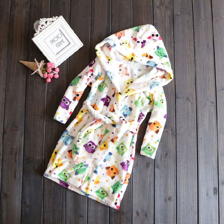 Корейская версия осенью новой детской одежды мальчиков и девочек спортивный костюм ребенок фланелевую халат халат детей - глобальная станция Taobao