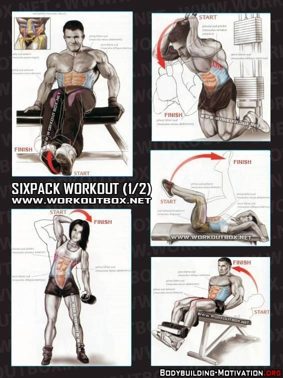 Personal Trainer - Sixpack Workout1