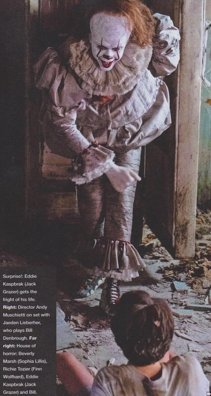 Filtran nuevas y espeluznantes imágenes de la película de Eso | Atomix