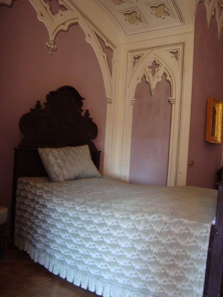 Bed in Bitov Castle