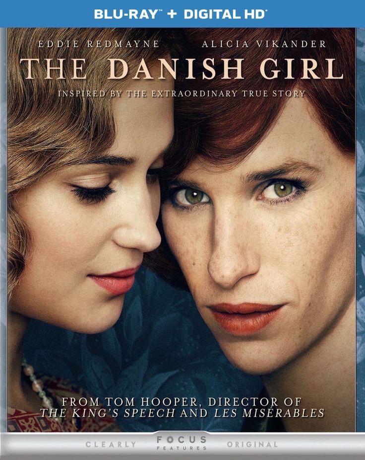 The Danish Girl Blu-ray