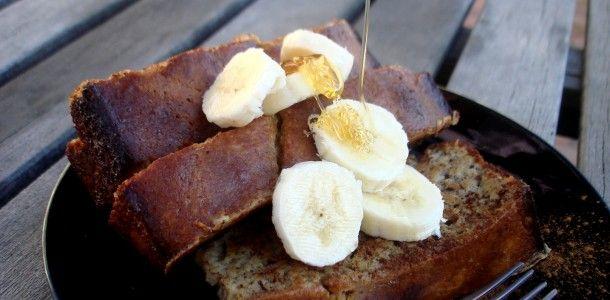 banana bread french toastBananabread, Breads French, Paleo Breakfast, French Toast, Banana Bread, Eating, Paleo Bananas Breads, Breakfast Recipe, Paleo Recipes