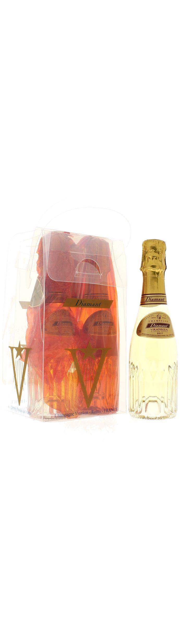 DIAMANT DE VRANKEN PACK QUATRE BRUT - achat/vente de Champagne