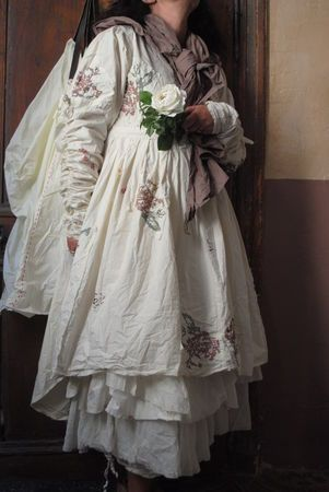 Love the frothiness of the petticoats and frills