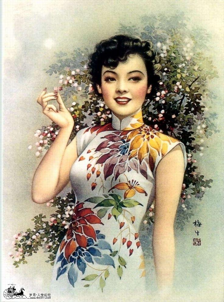 Китайские старые открытки, анимации про