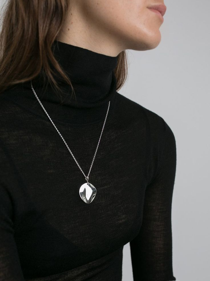 HOLLY RYAN | Wavee Necklace Sterling Silver | The UNDONE by Holly Ryan