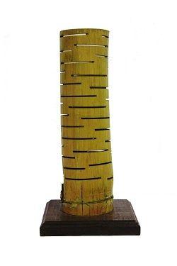 Lámpara de mesa de Bambú - Bambu wood desk lamp Now Available #Art3Mas