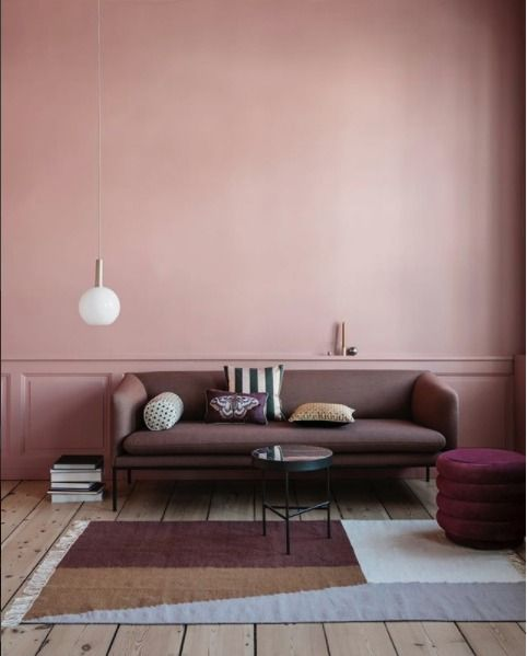 Dusty Pink Daybed