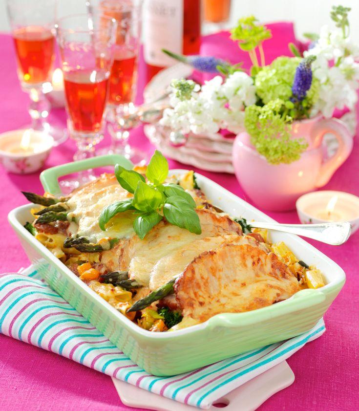 Vad ska vi äta idag? Vi har tips på goda middagsrecept här>> 4personer 300 g valfri pasta 1 orange paprika ca 250 g broccoli 1 purjolök 3 kryddstarka korvar, t exkabanossen...