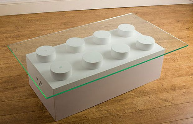 Lego table for a kids room: Ideas, Coffee Tables, Brick Coffee, Legotable, Legos, Lego Brick, Lego Table