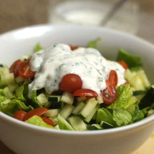 Goat Yogurt Ranch Dressing